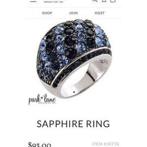 Parklane Sapphire CZ Ring